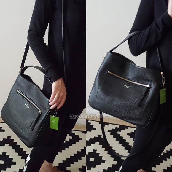Black NWT Kate Spade Michaela Chester Street Crossbody Bag